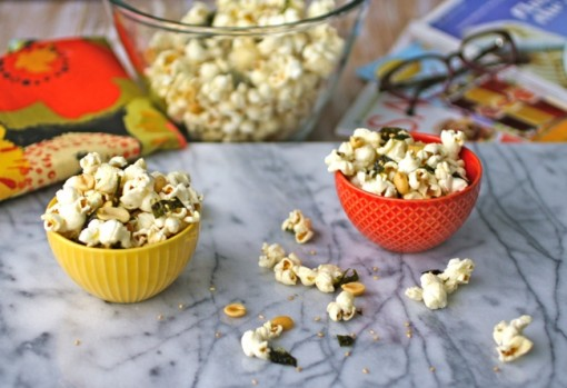 Snacktime: Sesame and nori popcorn