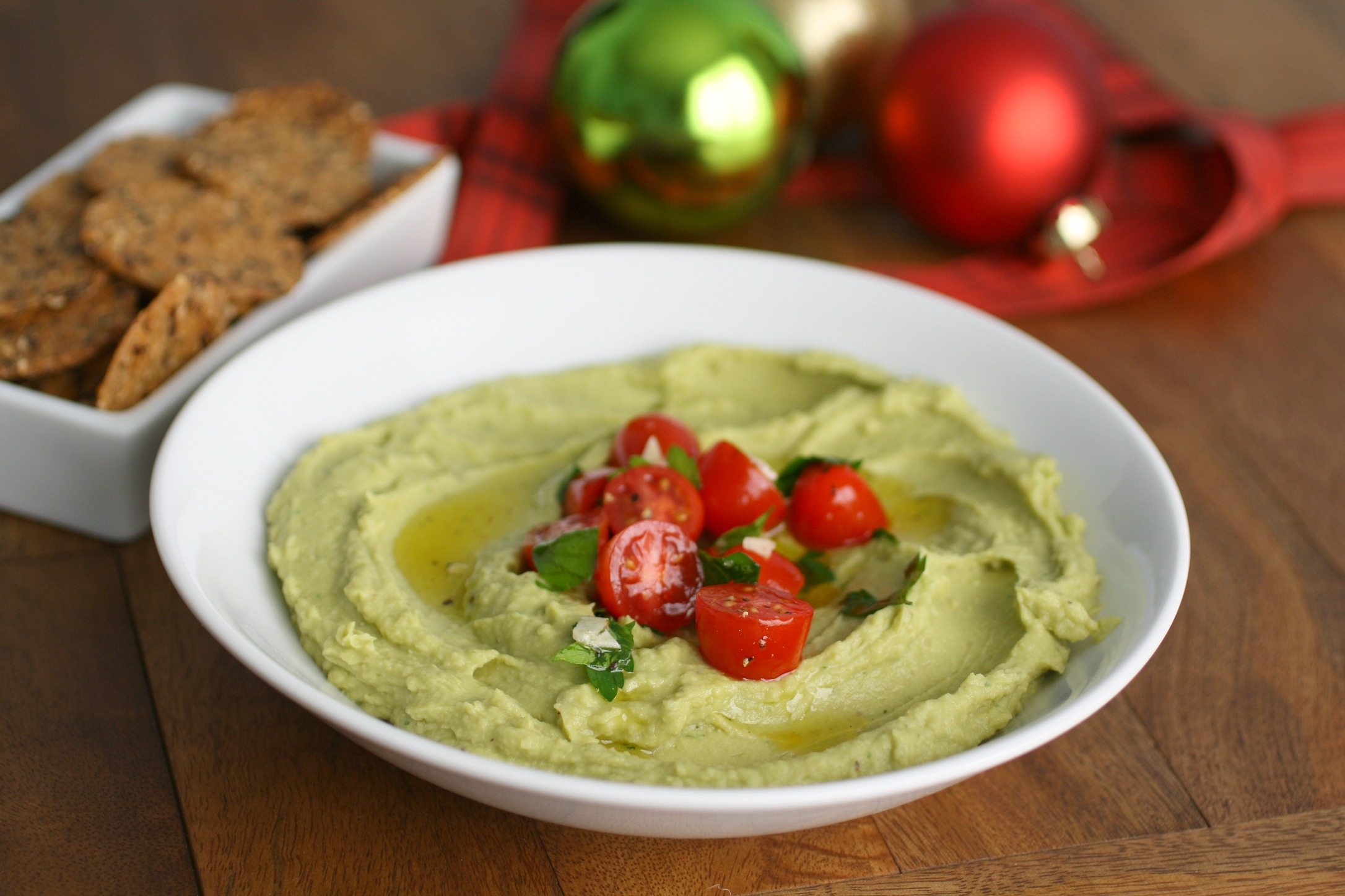 Avocado Hummus (Vegan recipe)
