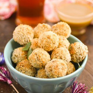 Baked Sauerkraut Balls are retro fabulous! These appetizers are so delcious, and perfect for a party!
