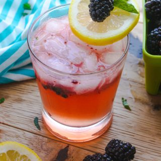 Blackberry Buck Cocktail is a fun, fruit-flavored drink. The color is so pretty!