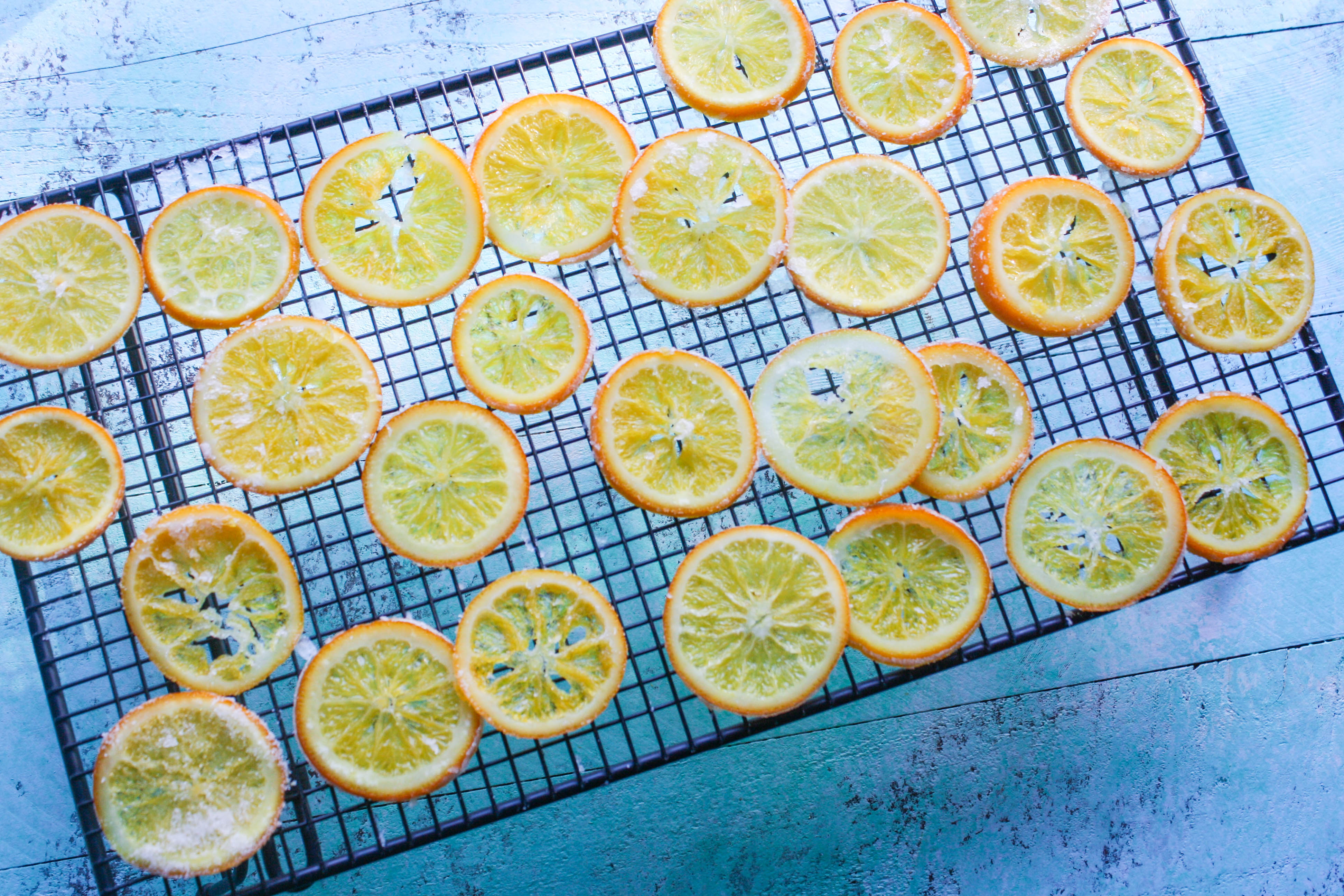 Candied Orange Slices are a bright and cheerful treat. You'll love these candied oranges, for sure!