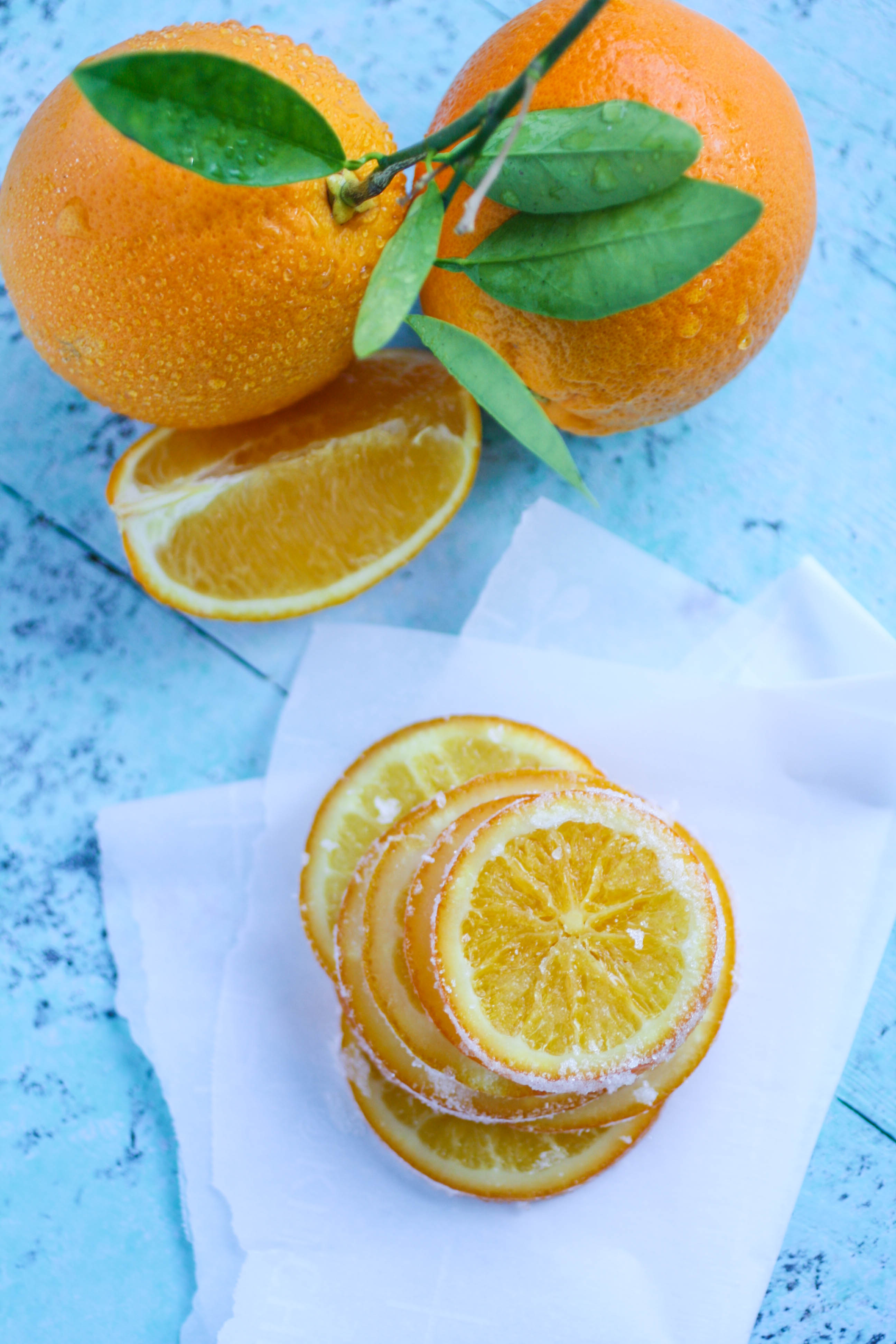 Candied Orange Slices are a lovely and bright treat for any day. You'll love these candied oranges for a special treat.