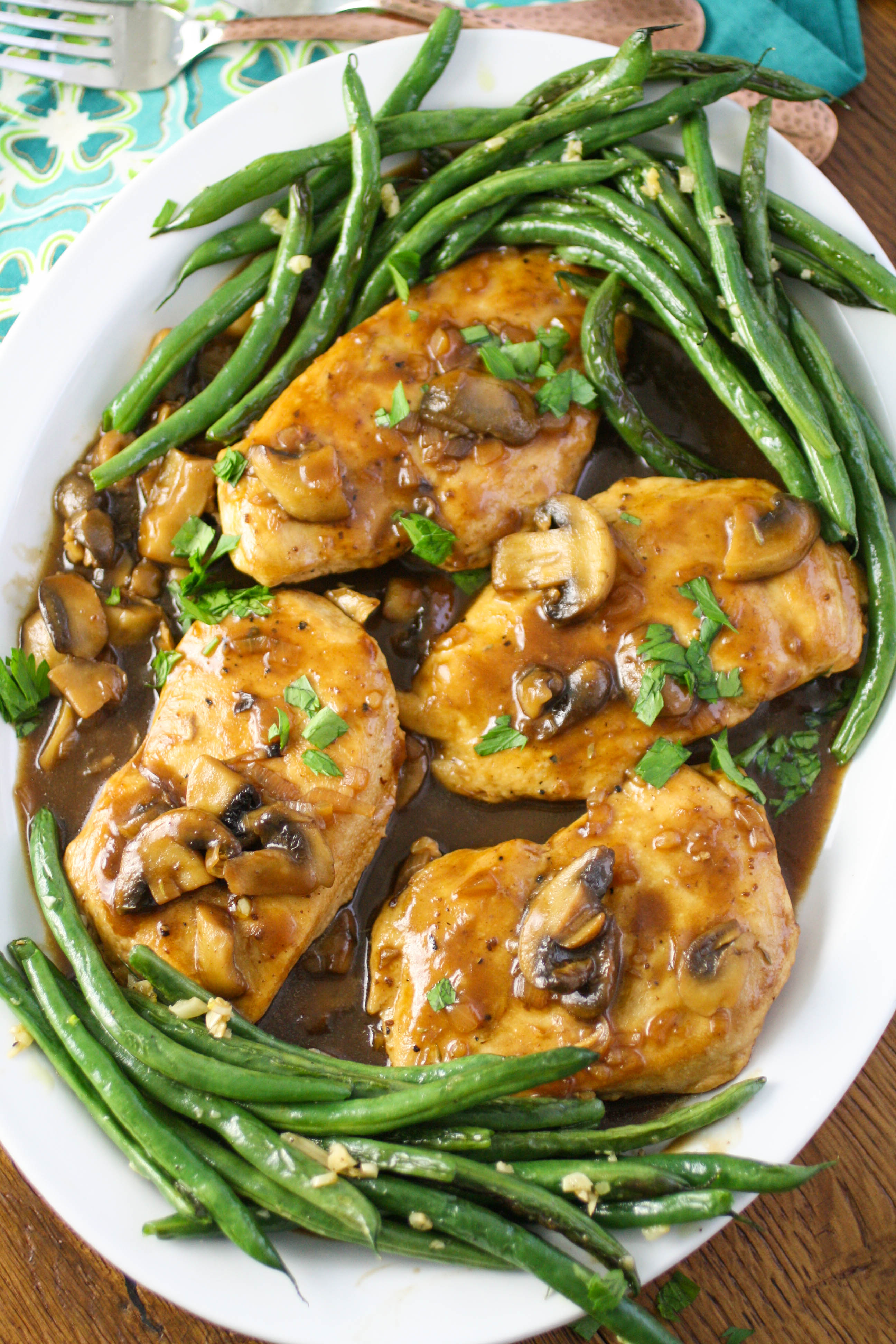 Chicken Madeira is a flavorful dish you'll love. This chicken dish is perfect as a special occasion meal, or a weekly dinner.