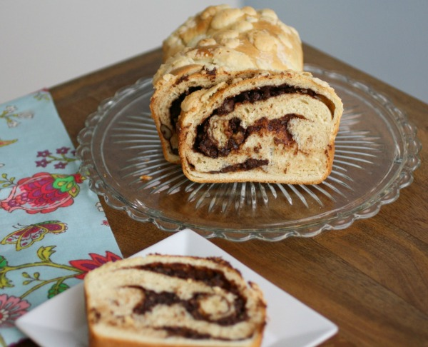 Serve a slice of Chocolate Babka
