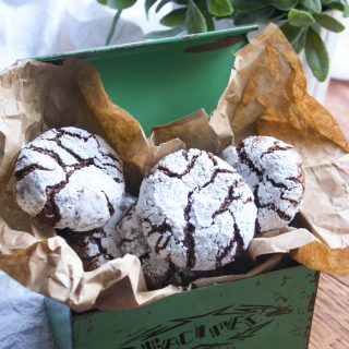 Chocolate-Chili Crinkle Cookies are a fabulous goodie perfect anytime of year. These cookies are such fabulous treats!