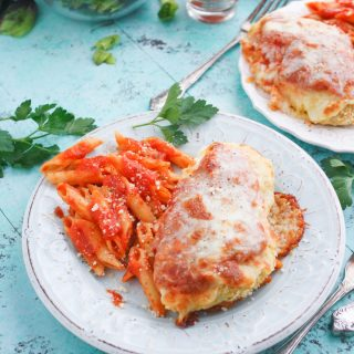 Classic Baked Chicken Parmesan is a great dish for any night. You'll love the goodness that is Classic Baked Chicken Parmesan!