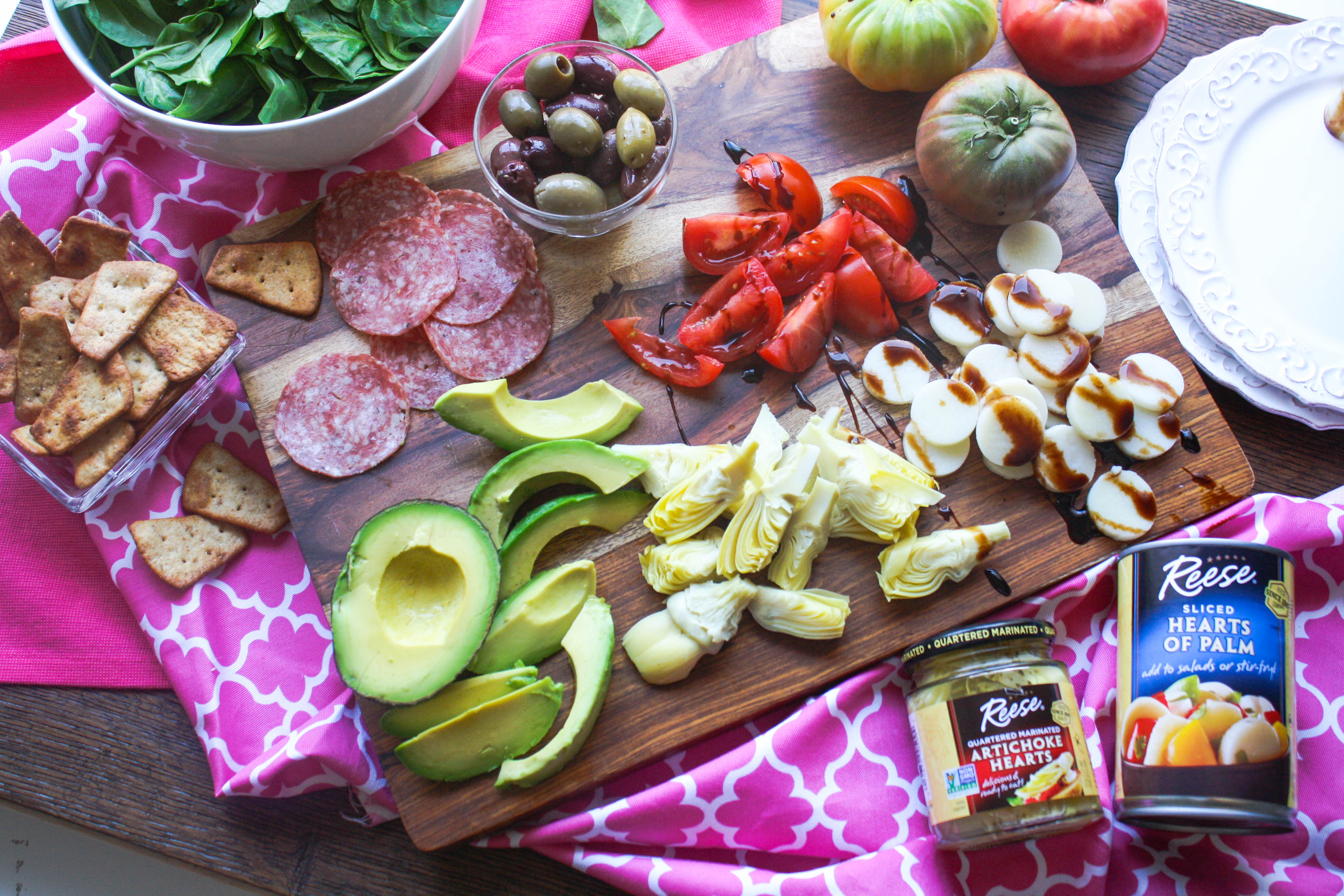 An Easy Antipasto is as delicious (and easy to make) as it sounds! You'll love this starter!