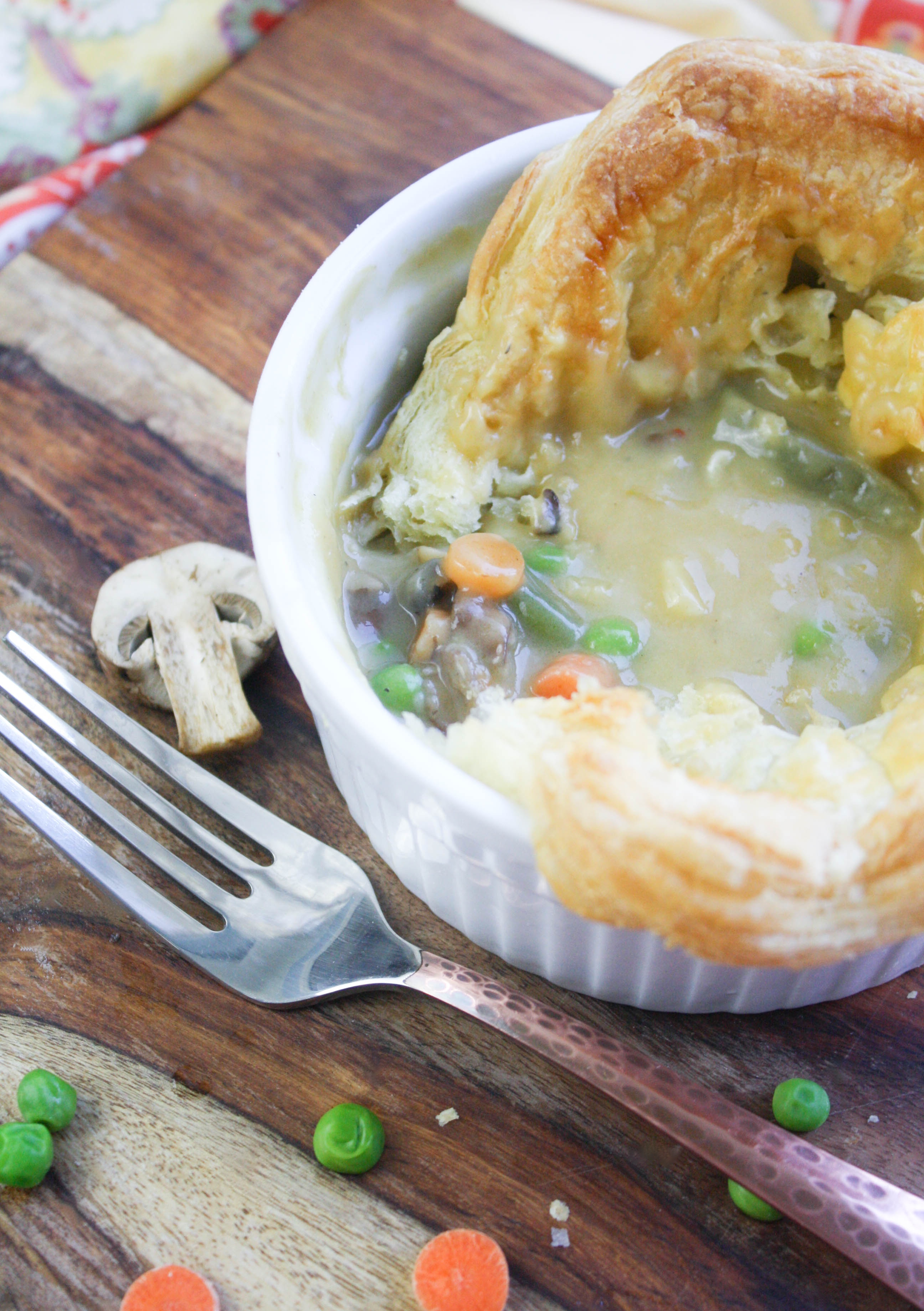 Easy Puffy Pastry Vegetable Pot Pies are an amazingly wonderful dish to serve when it's cold. Easy Puffy Pastry Vegetable Pot Pies are so tasty and filling. You'll love this meatless meal.