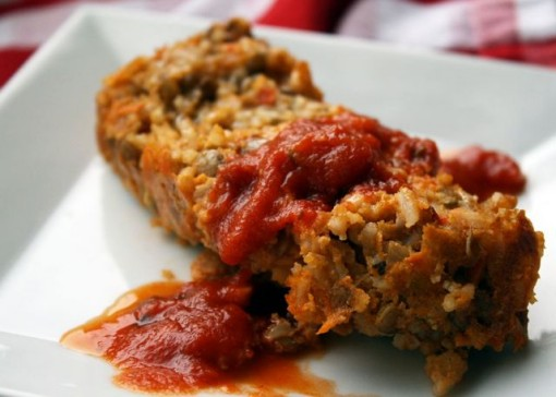 Second Rice & Lentil Loaf