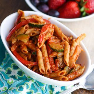Fajita Pasta is a fun dish! It's flavorful, filling, and gets you out of a pasta rut!