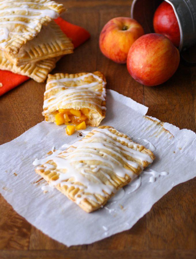 """Fresh Peach Pie """"Pop Tarts"""""""