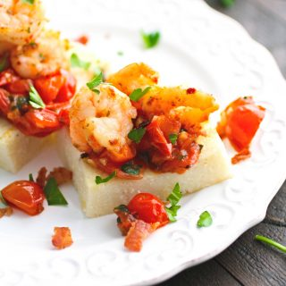 Individual Cheesy Shrimp & Grits make a fabulous dish to serve for a special meal. You'll love Individual Cheesy Shrimp & Grits any time!