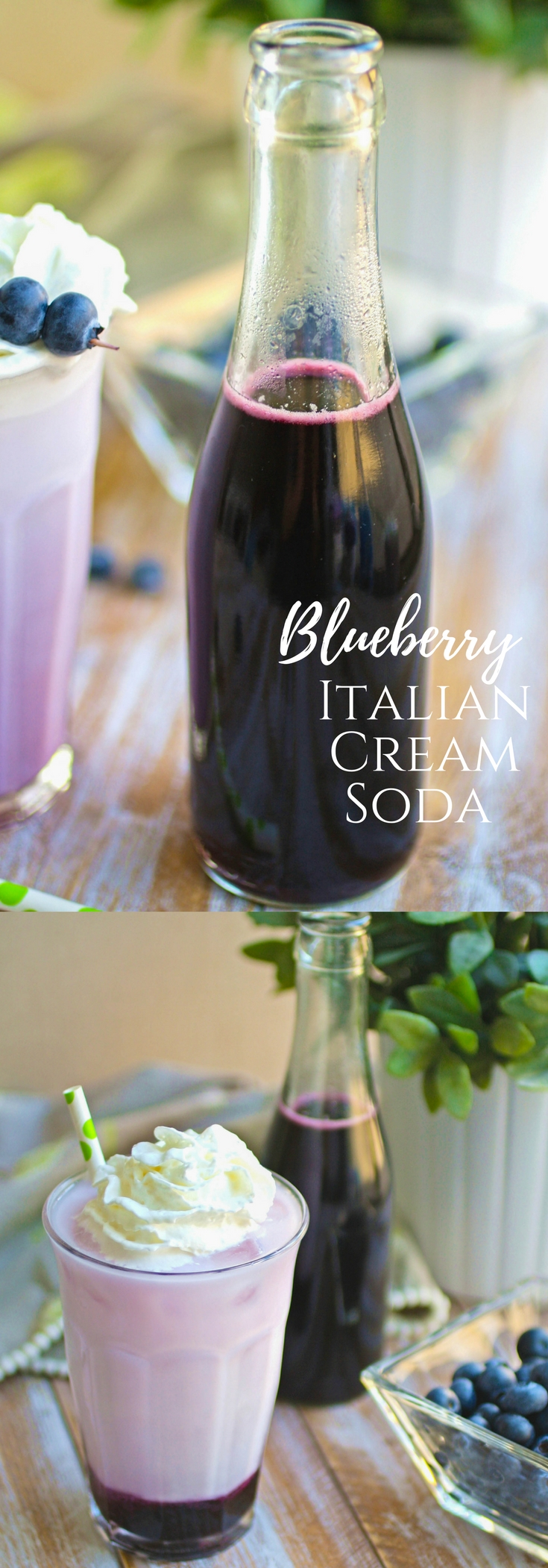 Blueberry Italian Cream Soda drinks are fun to indulge in. You'll love these Blueberry Italian Cream Soda drinks you can make at home.
