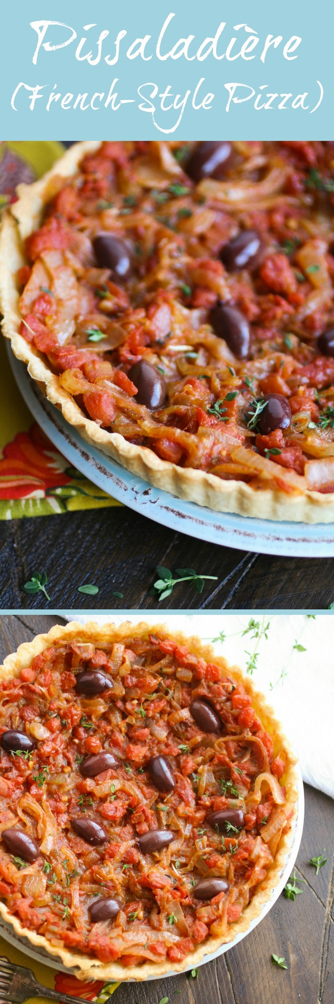 Pissaladière (French-style pizza) should be on the list for your next gathering! This makes a wonderful starter!