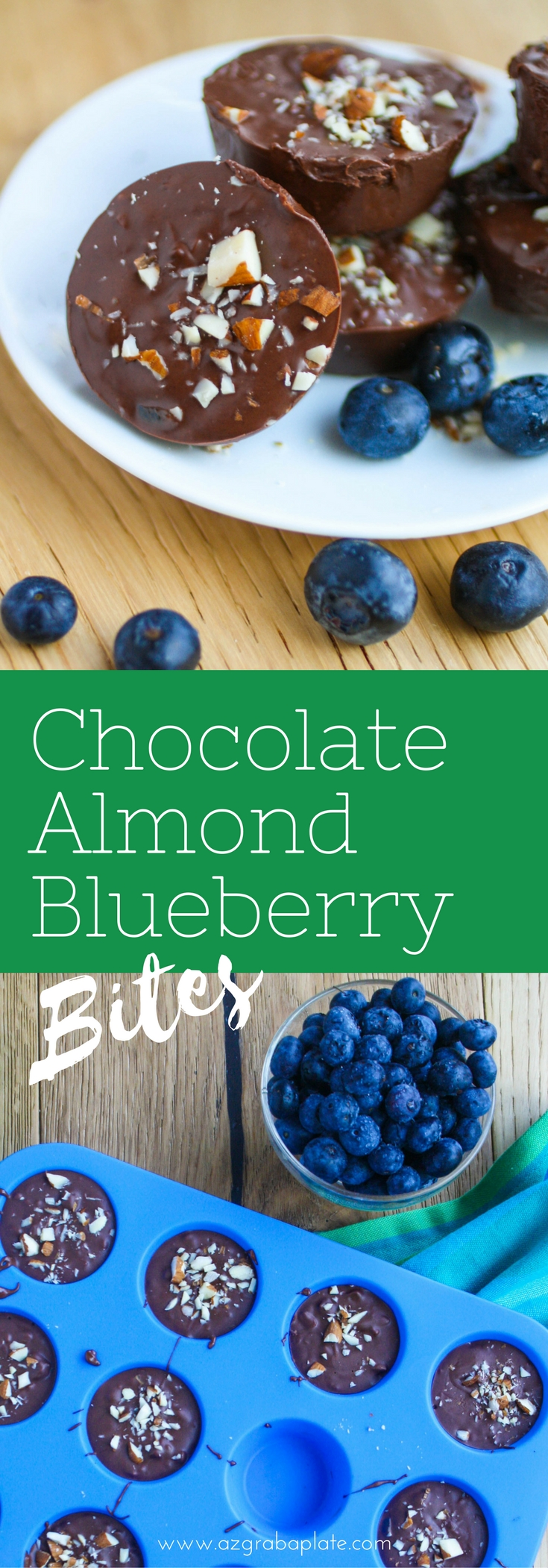 Chocolate Almond Blueberry Bites are a fun treat. These easy-to-make candies will satisfy your sweet tooth!