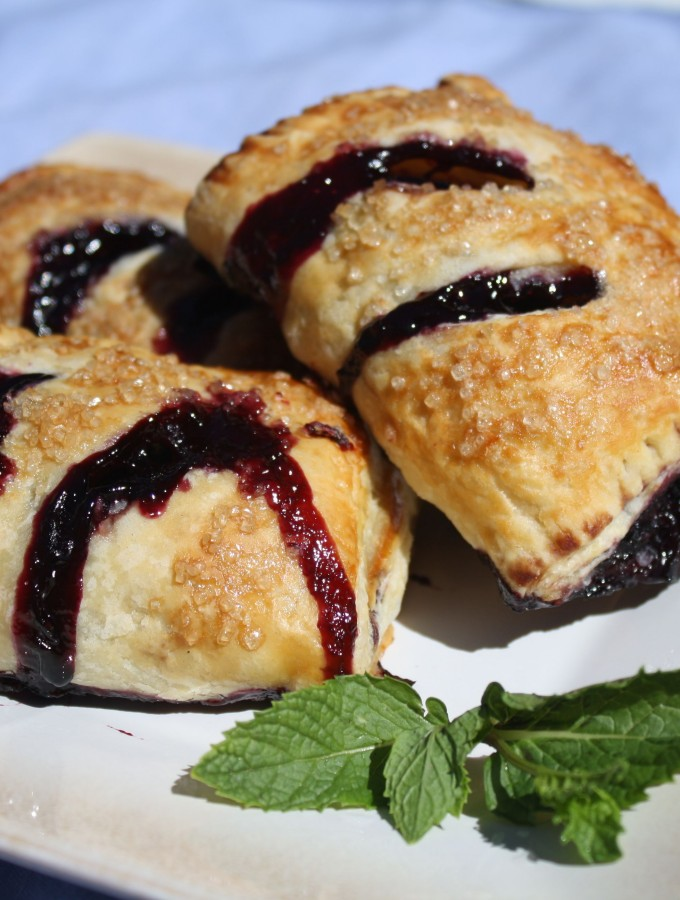 Blueberry Mint Hand Pies
