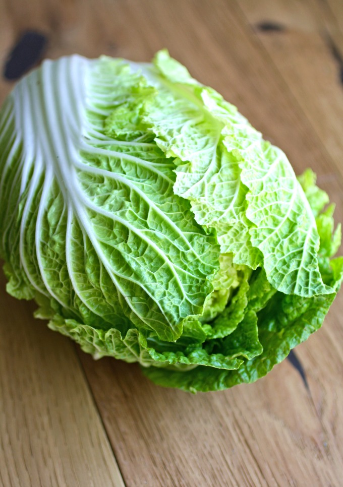 Use Napa cabbage to make a fabulous summer-season meal!