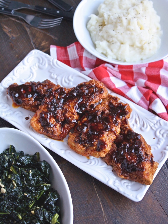 Nashville-style Hot Chicken is a winner for dinner! You'll love the flavors!