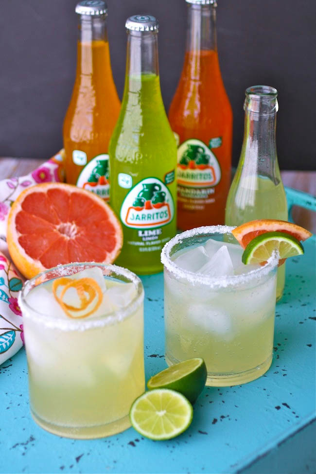 Paloma Cocktails are quite refreshing! You'll love the double hit of citrus flavor!