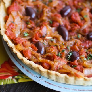 Pissaladière (French-style pizza) is a fabulous appetizer. The flavors are wonderful!