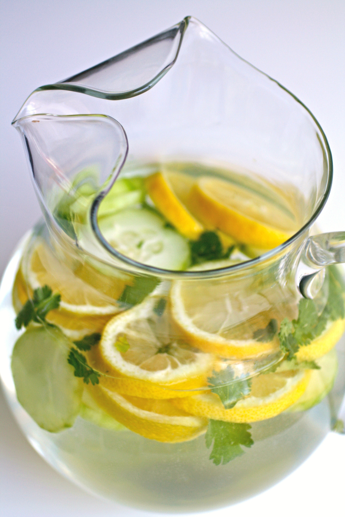 Just one pitcher of Lemon, Cucumber & Cilantro Infused Water and you'll be hooked!