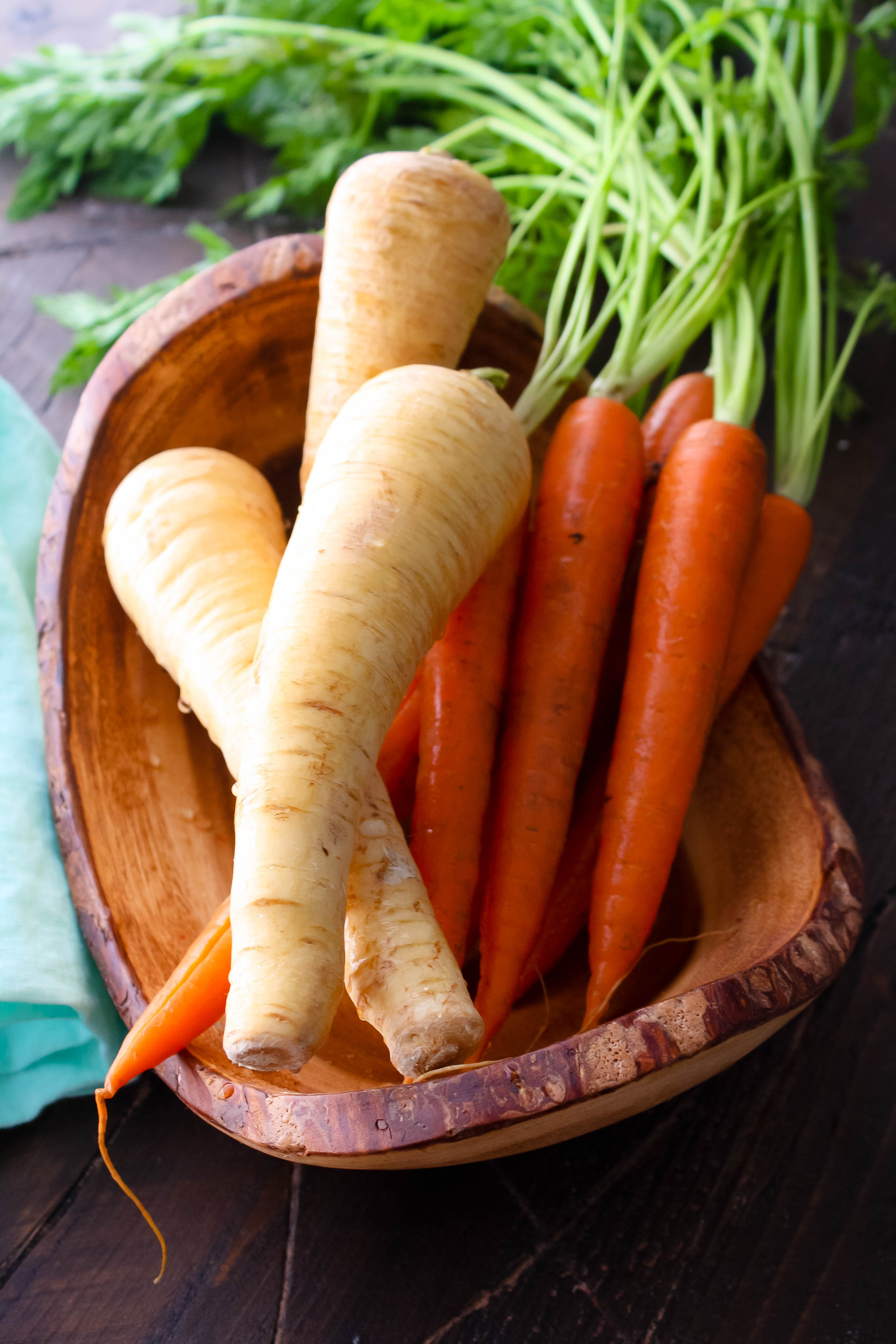Roasted Carrot and Parsnip Soup with Carrot Greens Pesto is a delightful soup for any day of the week. You'll love Roasted Carrot and Parsnip Soup with Carrot Greens Pesto.
