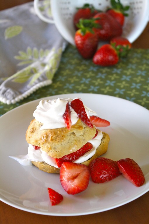 Vegan Strawberry Shortcake