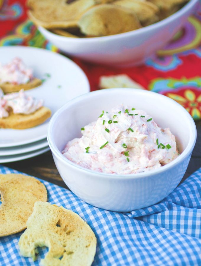Simple Smoked Salmon Spread is perfect for a party! You'll love this salmon spread for any occasion.