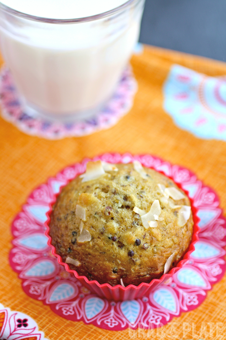 Enjoy these filling and tasty Quinoa, Coconut and Date Muffins