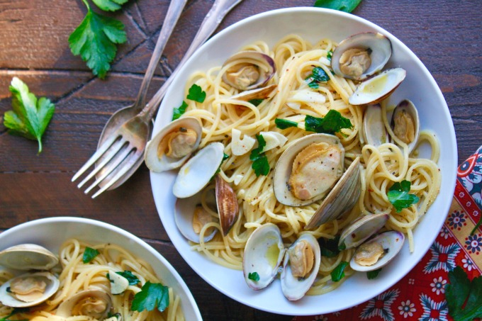 Enjoy Spaghetti alle Vongole (Spaghetti with Clams) as an easy-to-make meal for a special occasion