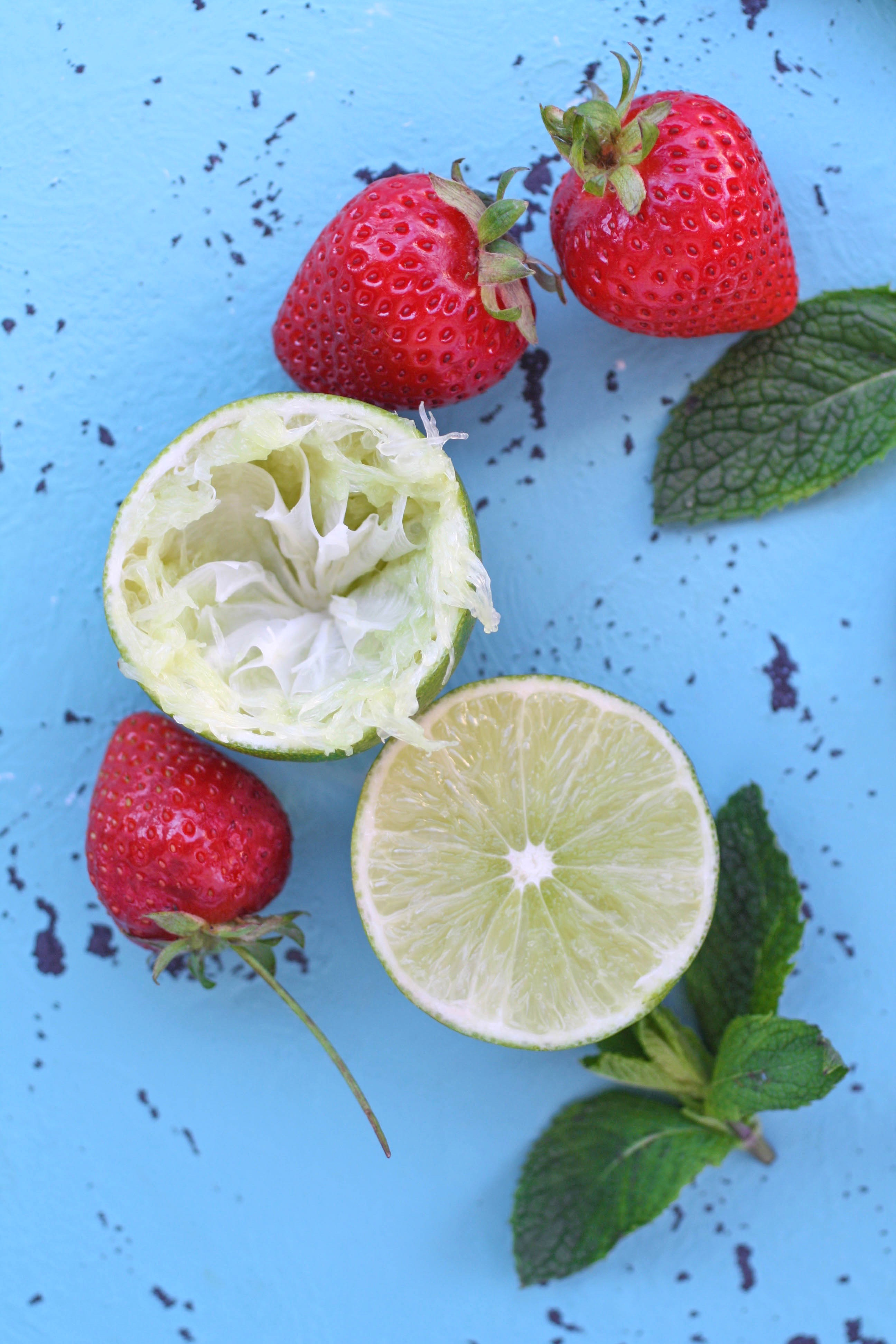 Strawberry-Mint Agua Fresca is a drink you'll want for the warm weather. It's a delight!