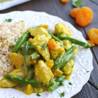 You'll love how flavorful (and easy) Moroccan Skillet Chicken with Green Beans is!