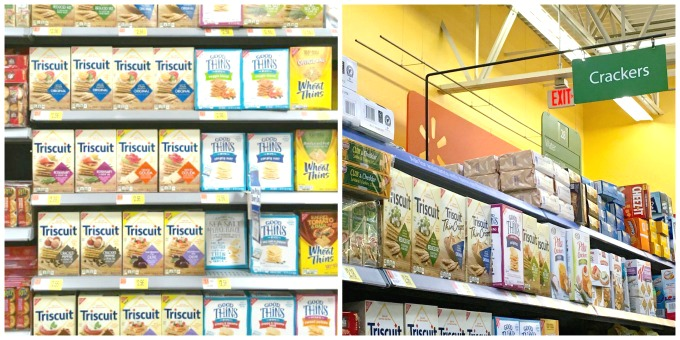Pick up TRISCUIT Crackers for a great snack!