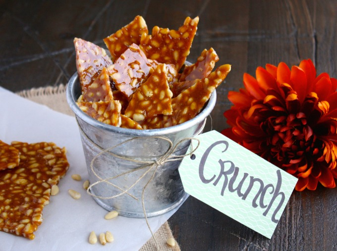 What a wonderful treat! Spicy Pine Nut Brittle is great for gift-giving or keeping for yourself!