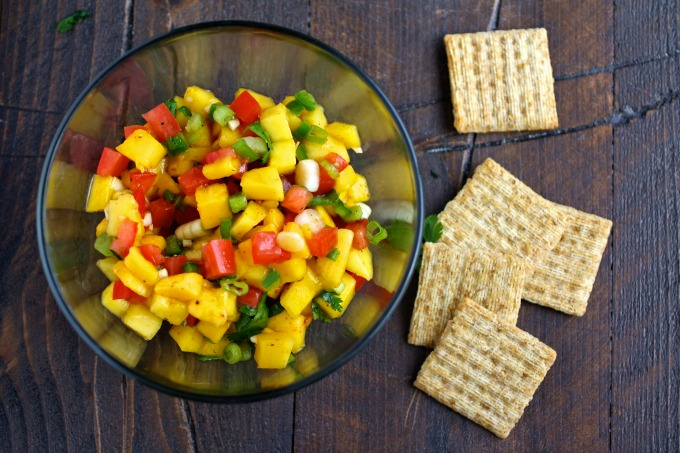Have you ever tried mango salsa? It's divine!