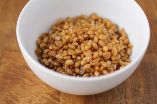 Cooked Wheat Berries