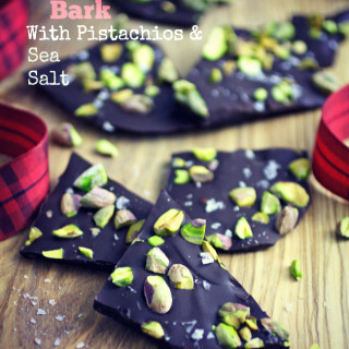 Chocolate Bark with Pistachios and Sea Salt is a delicious and easy-to-make treat. You'll love this candy treat!