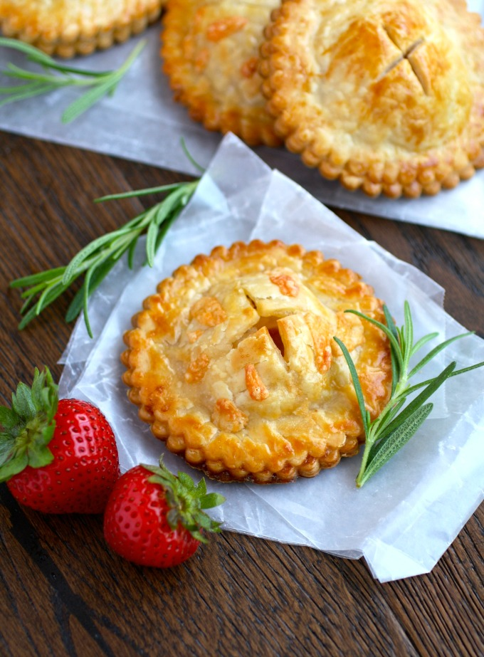 Ham & Havarti Hand Pies with Rosemary-Mustard Aioli are a fabulous twist on a sandwich, with flavorful ingredients!