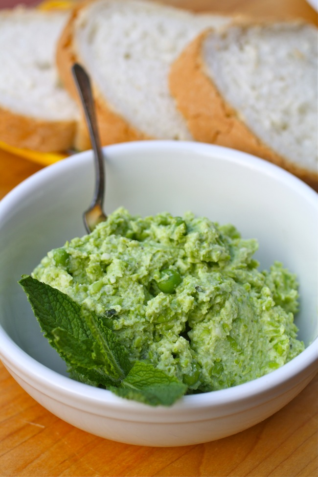 Pea and Ricotta Spread