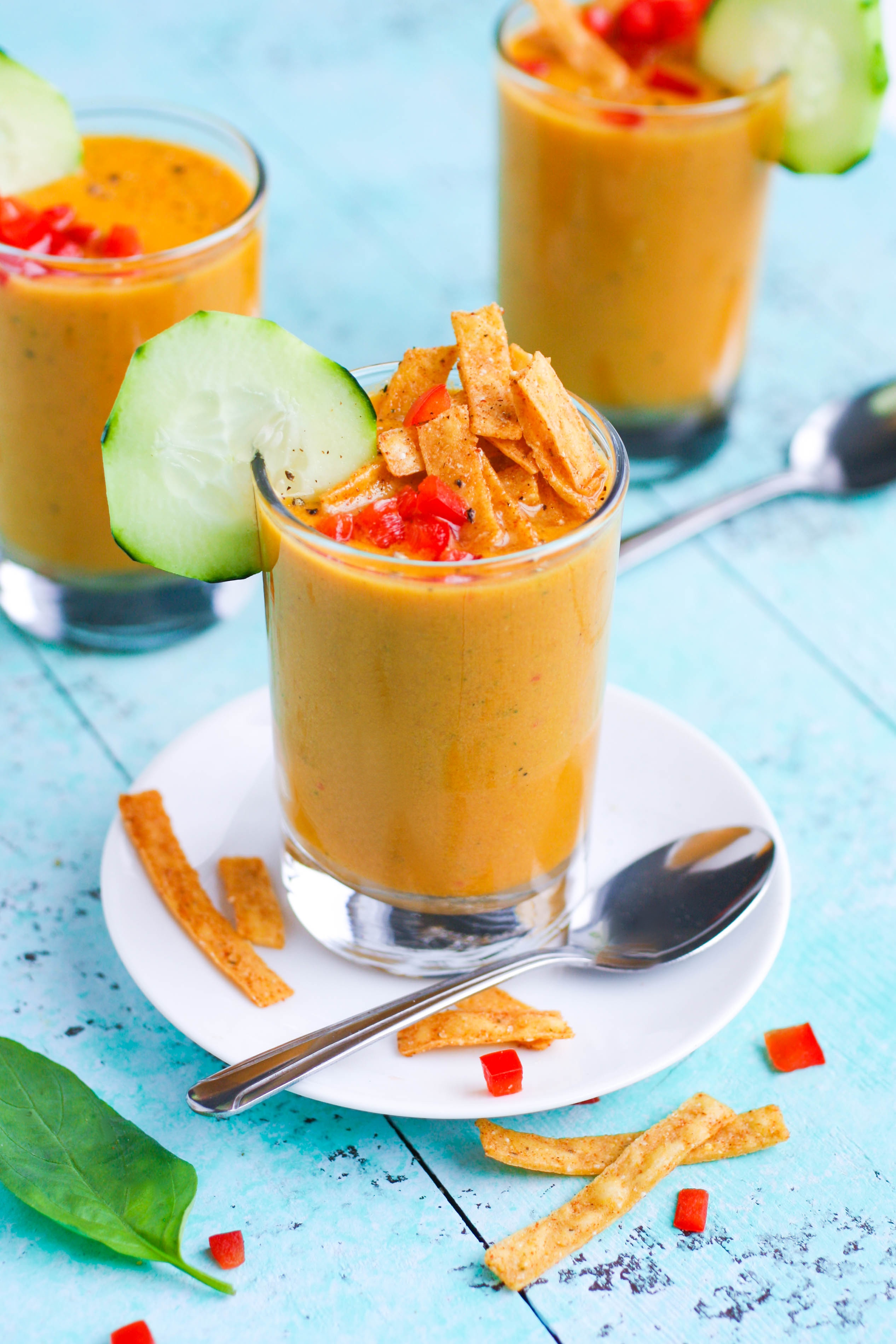 Yellow Heirloom Tomato Gazpacho is a fabulous seasonal appetizer. Yellow Heirloom Tomato Gazpacho is perfect for the season!