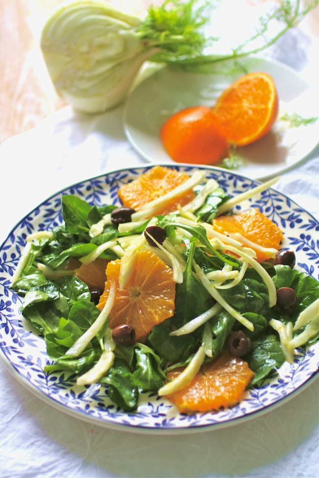 Sicilian Fennel and Orange Salad