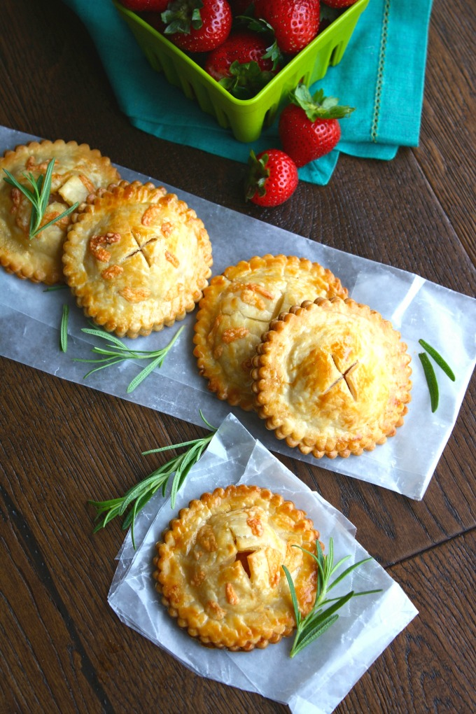 For a fun twist on sandwiches, give these Ham & Havarti Hand Pies with Rosemary-Mustard Aioli a try. They're fun and flavorful!