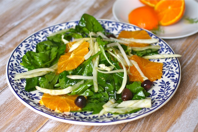 A flavorful dish, Sicilian Fennel and Orange Salad