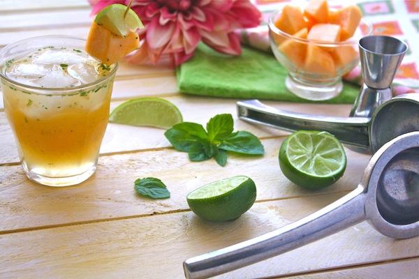 Caipirinha cocktails