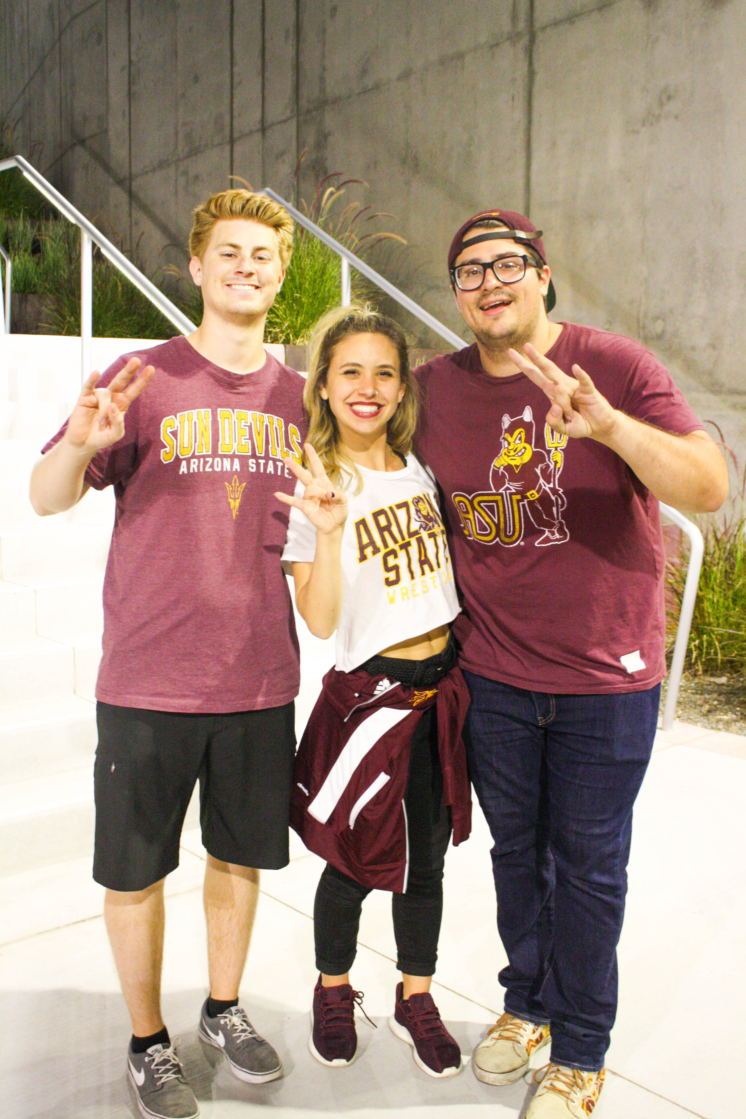 ASU fans. The games are so fun - just as any of the ASU fans!