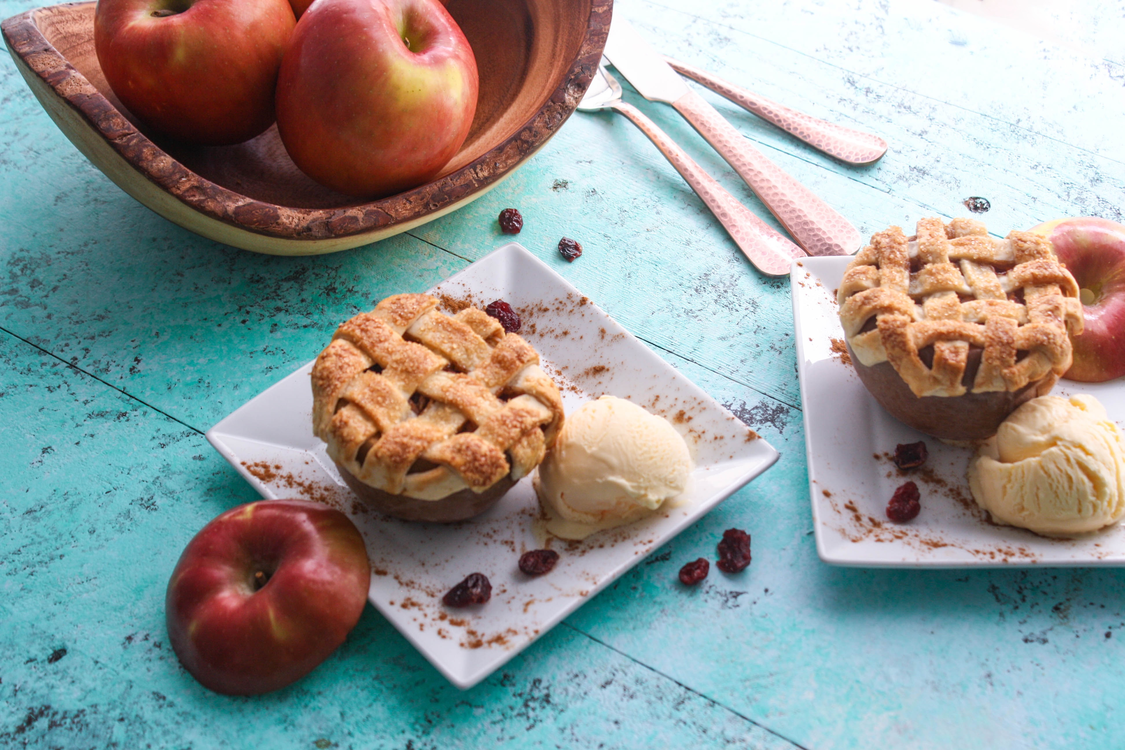 Apple-Cranberry Pie Baked Apples will be a hit for dessert! These baked apples are like apple pie, but much easier to put together.