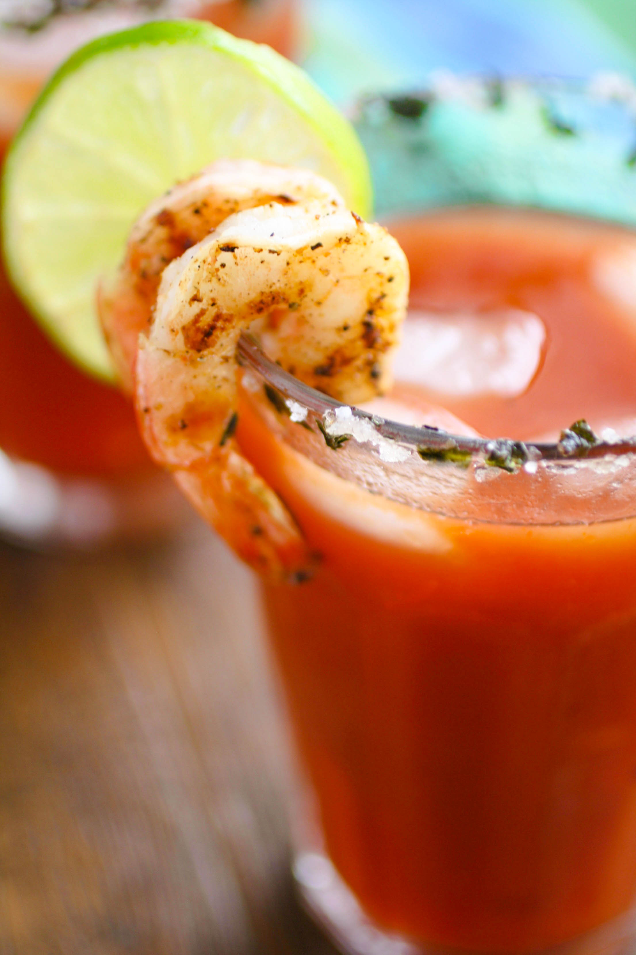 Asian Bloody Mary Cocktails are a delightful way to celebrate brunch! You'll love the flavor these cocktails bring to the table.