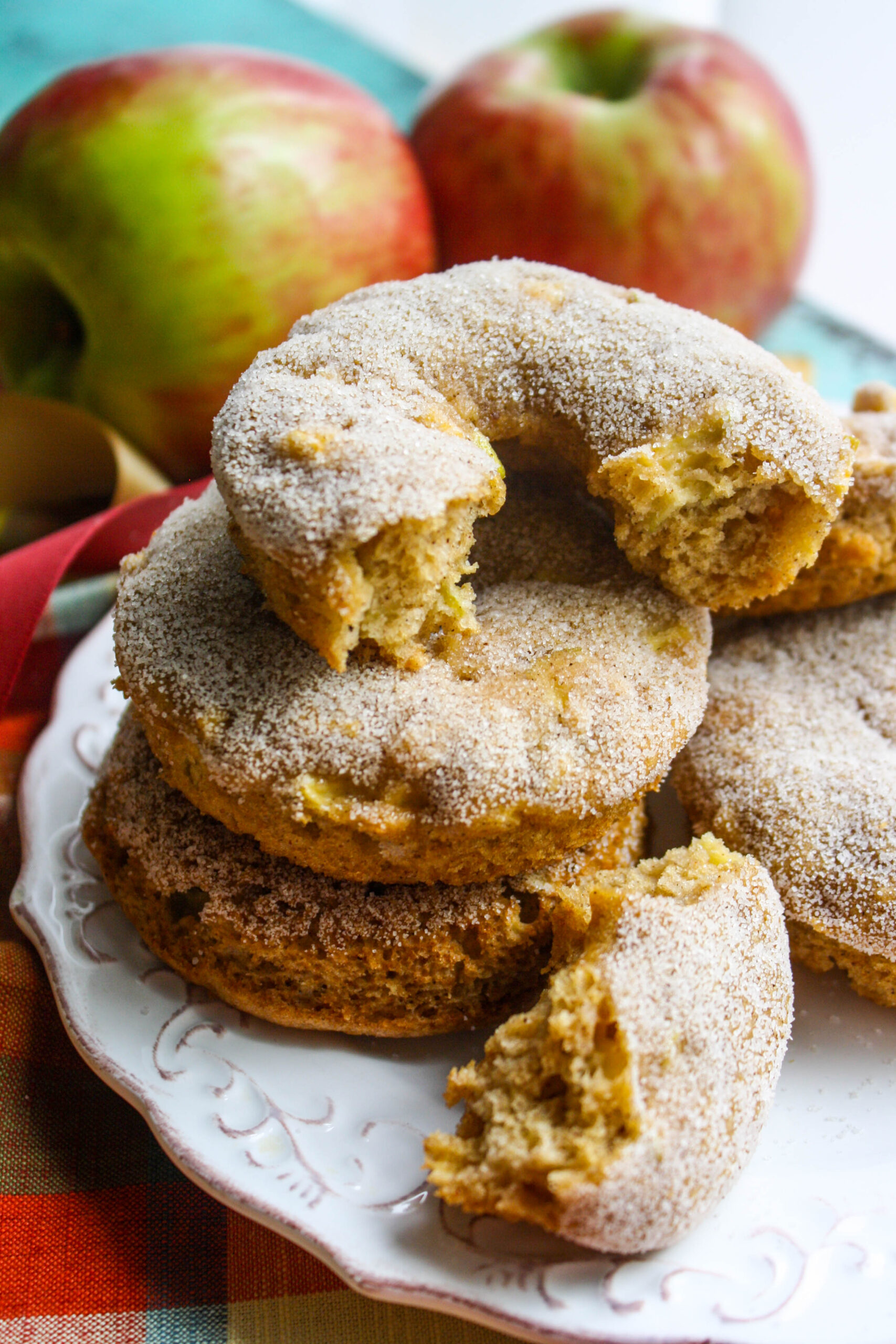 Dig into these Baked Apple Cider Donuts this season for a fun and flavorful treat!