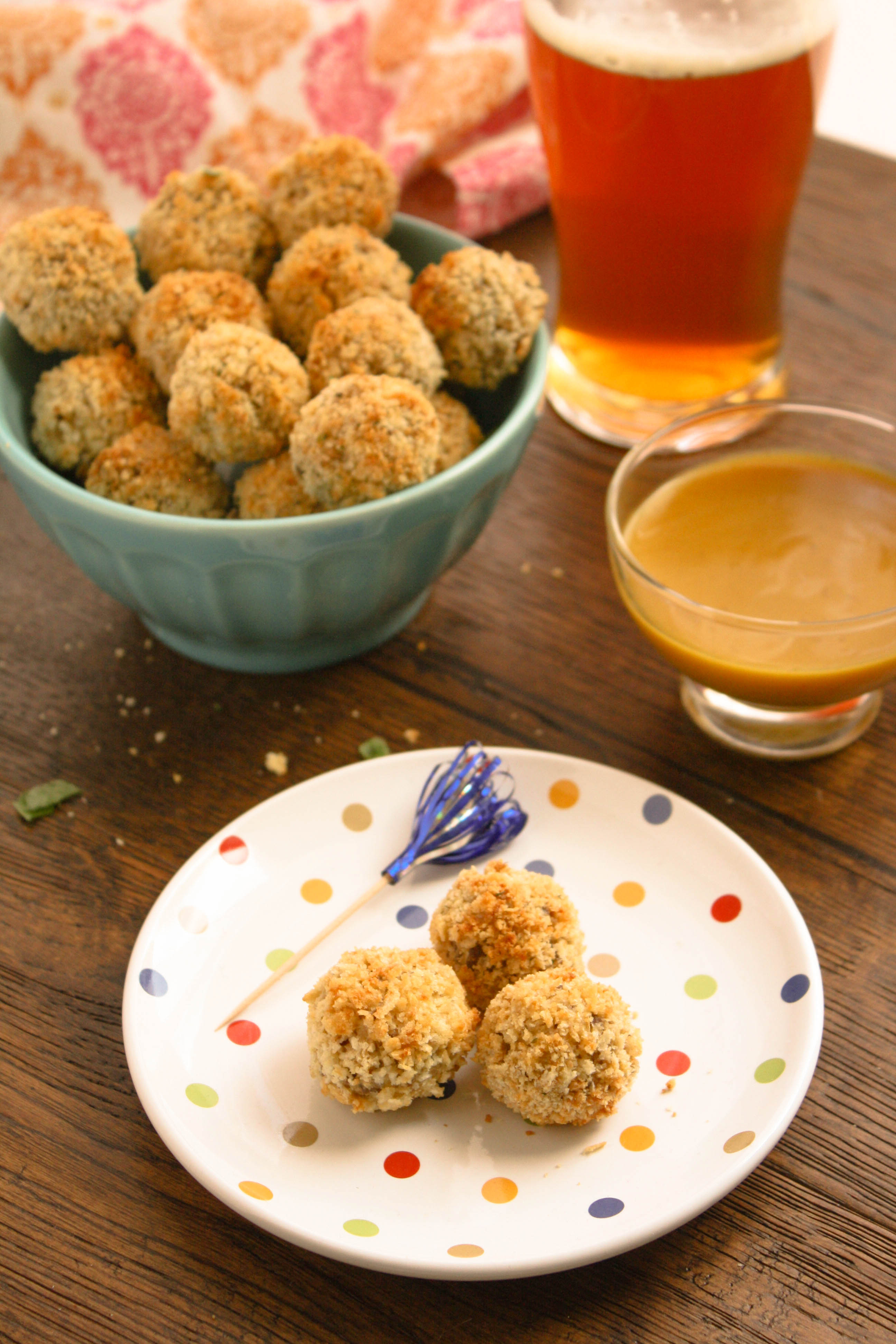 Baked Sauerkraut Balls are a delight! Perfect for a party this baked (not fried) appetizer is so good!