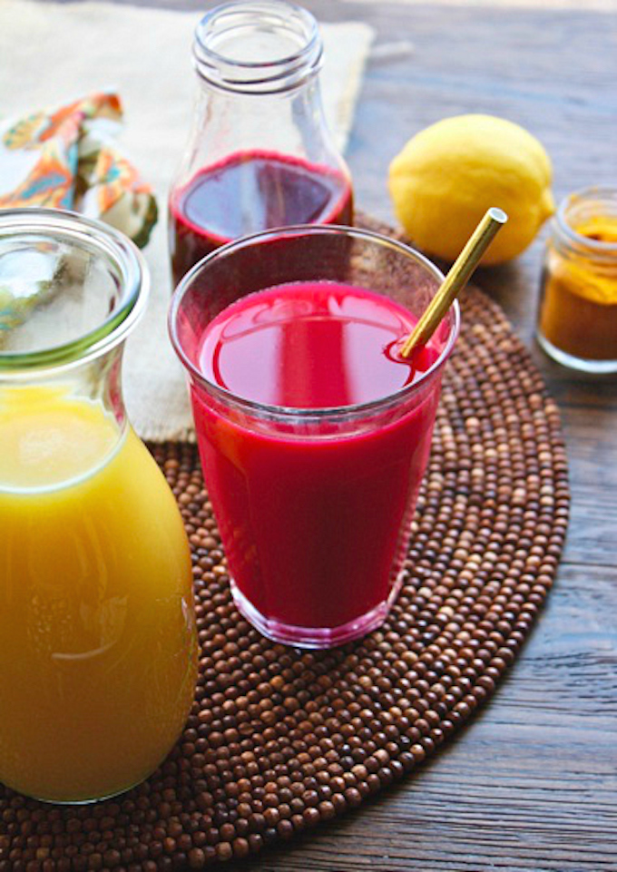 Beet & Orange Juice Morning Sunrise is the perfect drink in the a.m. You'll love serving it with breakfast!